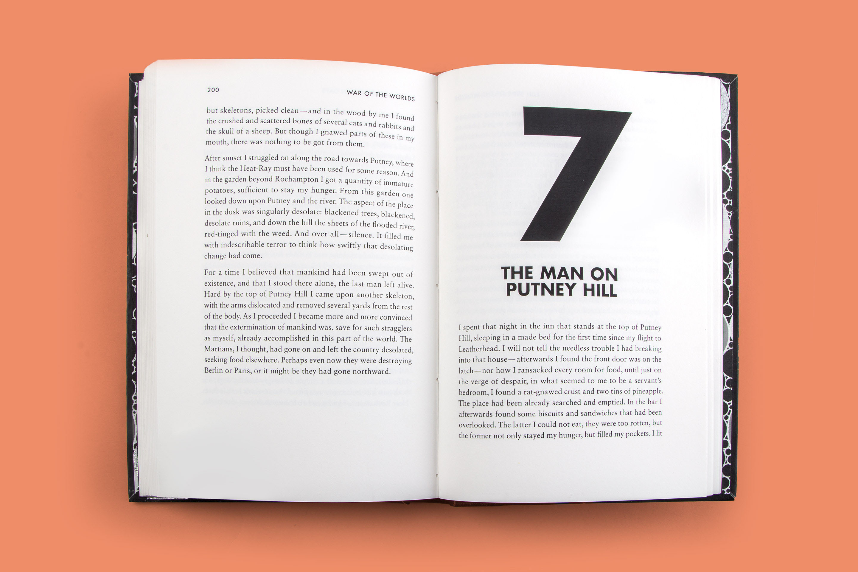 a spread from book, showing chapter 7